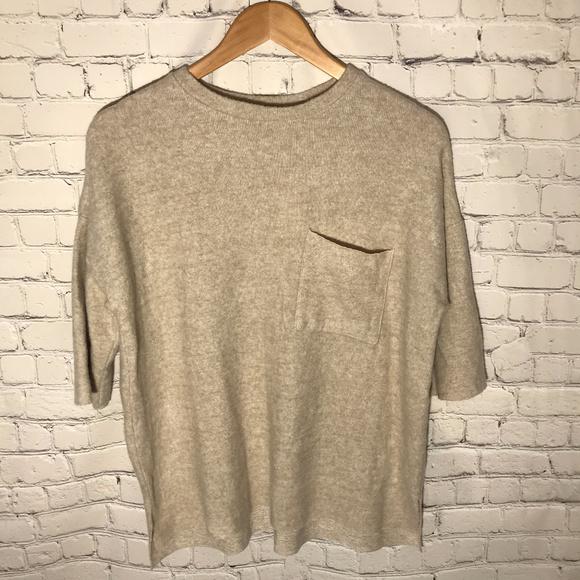 c538536b Zara Sweaters | Trafaluc Oatmeal Heather Sweater Top Nwt | Poshmark